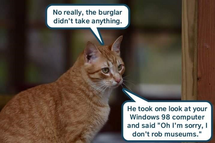 Timely burgling