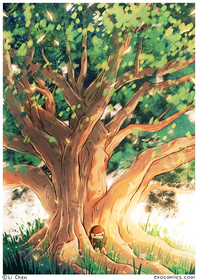 Tree - Li Chen CXOCcomics.com