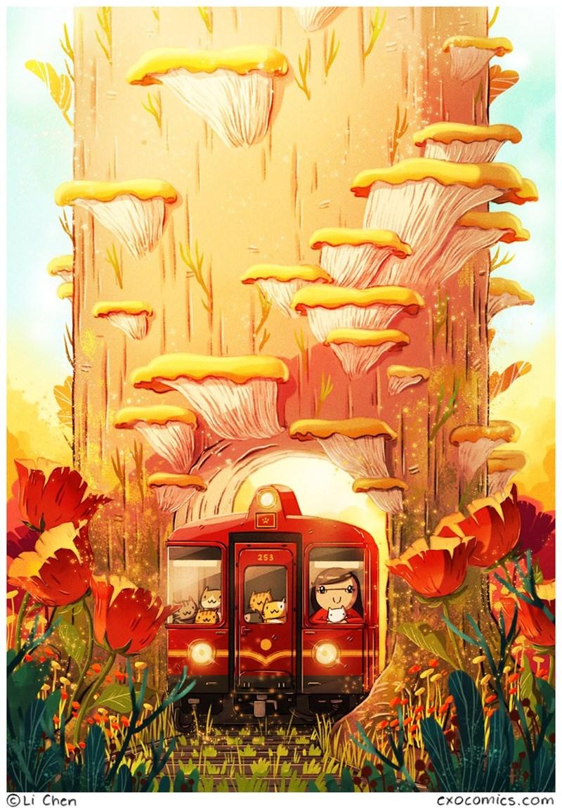 Illustration - 253 Li Chen CxOcomics.com
