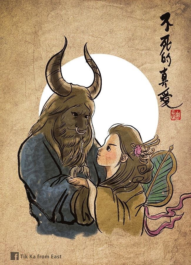 Cartoon - fTik Ka from East 不死的真罗