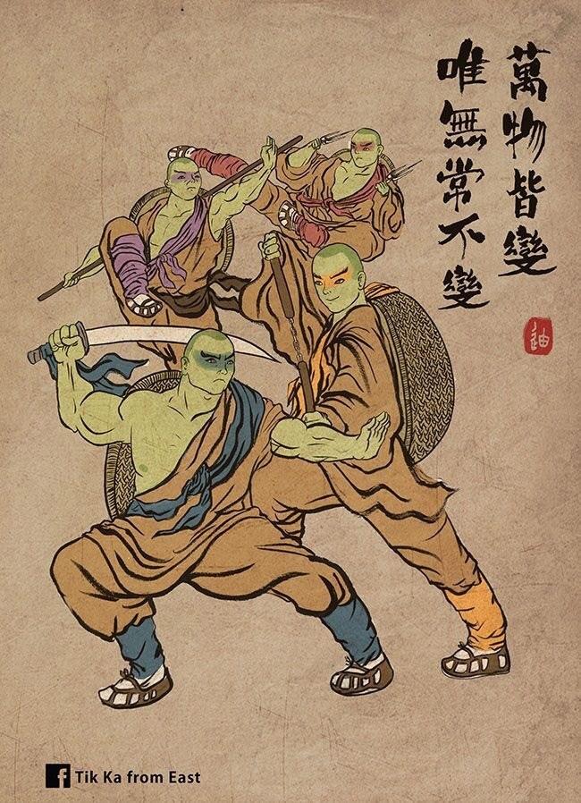 Cartoon - Tik Ka from East 萬物皆變 唯無常不變