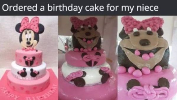 Cake decorating - Ordered a birthday cake for my niece RAPPY