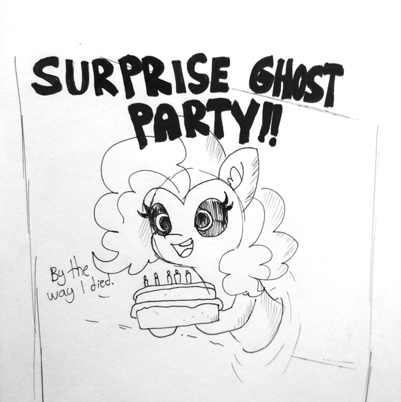tj pones ghosts pinkie pie - 9222996992