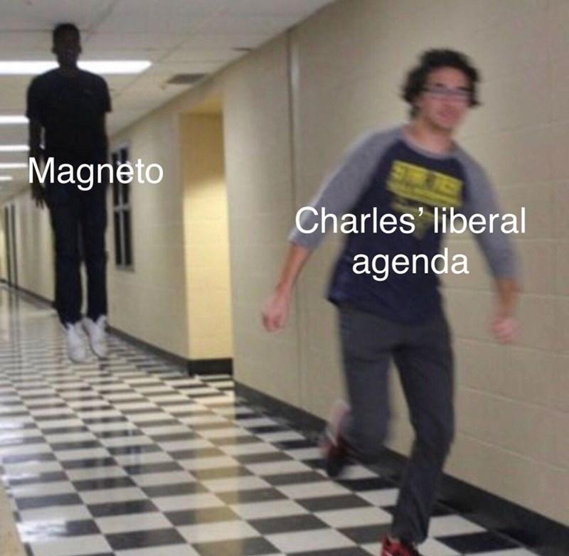 Standing - Magneto Charles liberal agenda