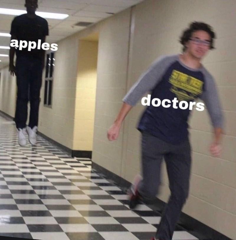 Standing - apples doctors
