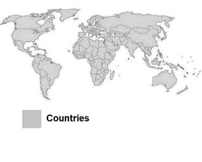 Map - Countries