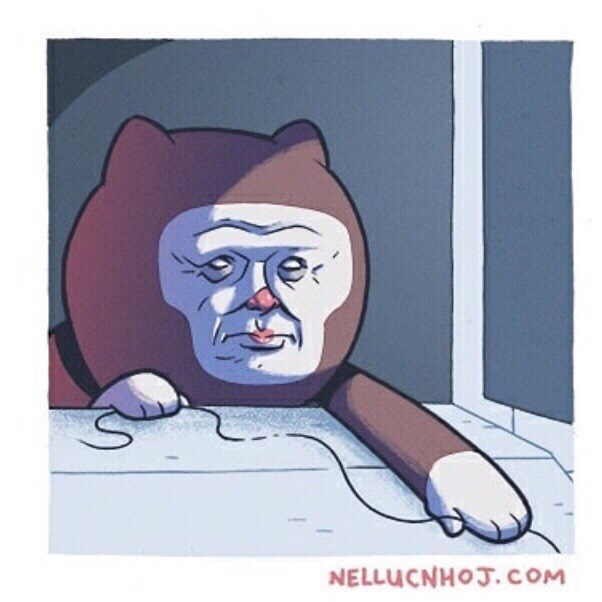 weird meme - Cartoon - NELLUCNHOJ. COM