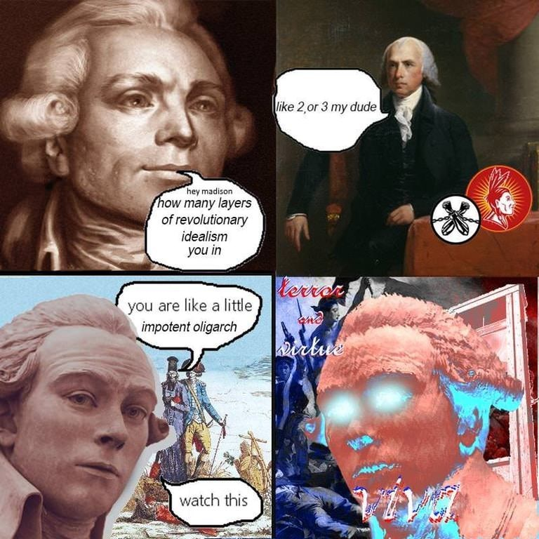meme about revolutionary realism