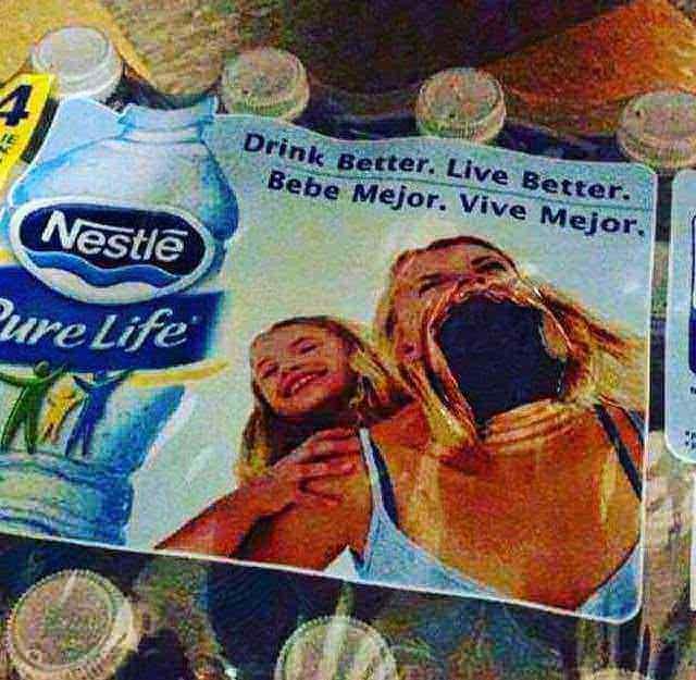 Drink - Drink Better. Live Better. Bebe Mejor. Vive Mejor. Nestle ure Life