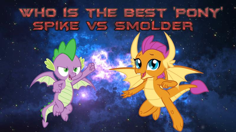 Dragon Spike Smolder Best Pony