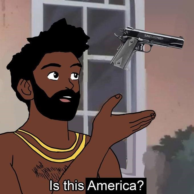 Cartoon - AeT300 Is this America?