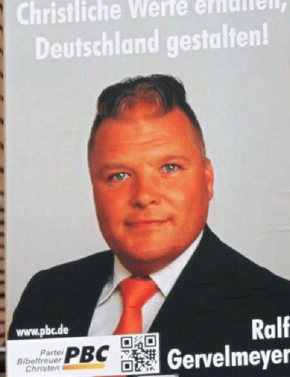 bad haircut - Forehead - Christliche Werfe Deutschland gestalten! Ralf Gervelmeyer www.pbc.de Parte Bibeltreuer Christen PBC
