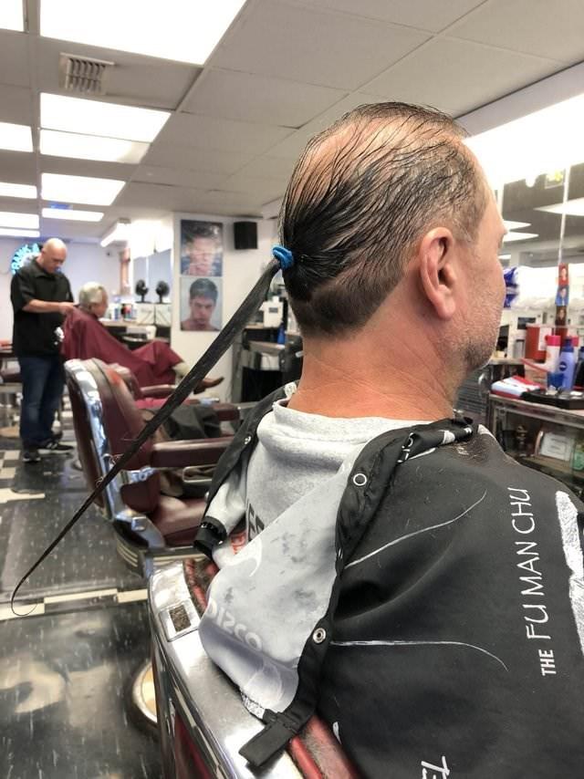 bad haircut - Hair - THE FU MAN CHU