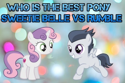 Sweetie Belle rumble best pony - 9225292288