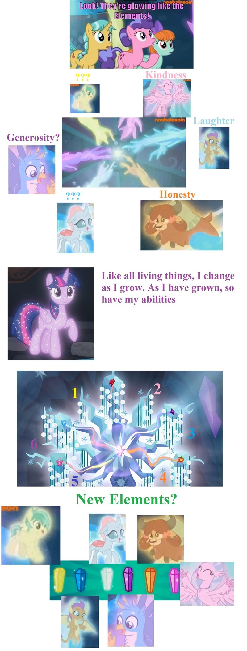 dragon yaks silverstream tree of harmony twilight sparkle screencap griffon smolder ocellus sandbar hippogriff school raze gallus yona changelings - 9225319424