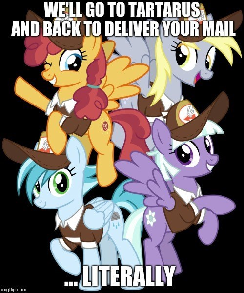rainy day appointed rounds derpy hooves cheezedoodle96 school raze sunny delivery - 9225349632