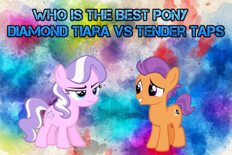 diamond tiara best pony tender taps - 9225422080