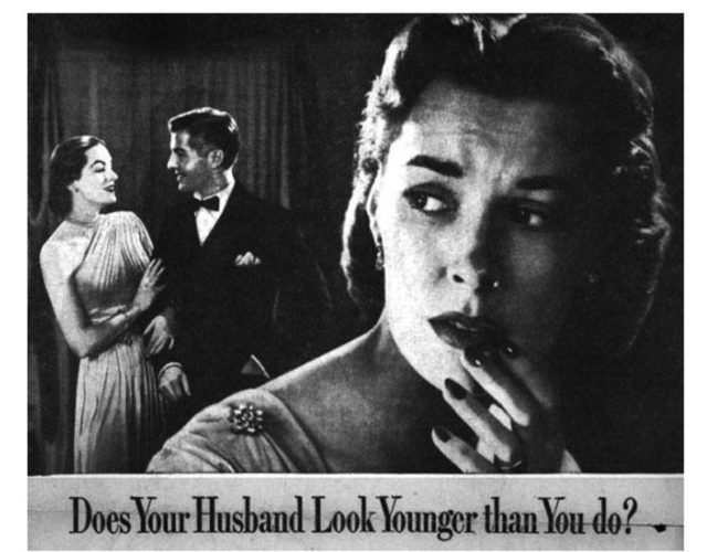 Photograph - Does Your Husband Look Younger than You do?