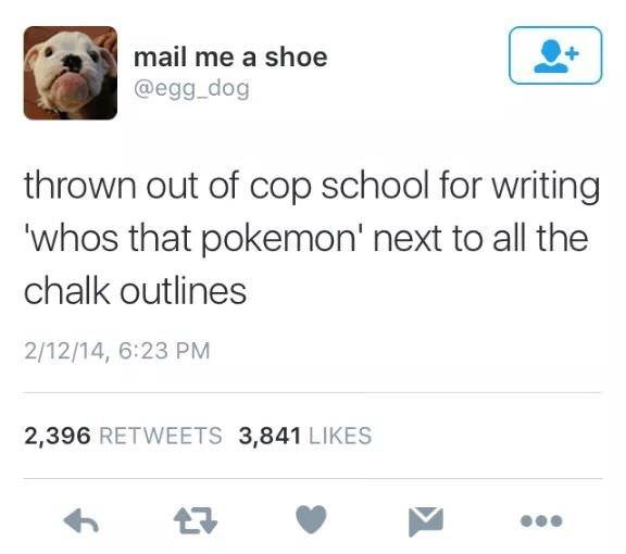 humpday meme about making pokemon jokes at cop school