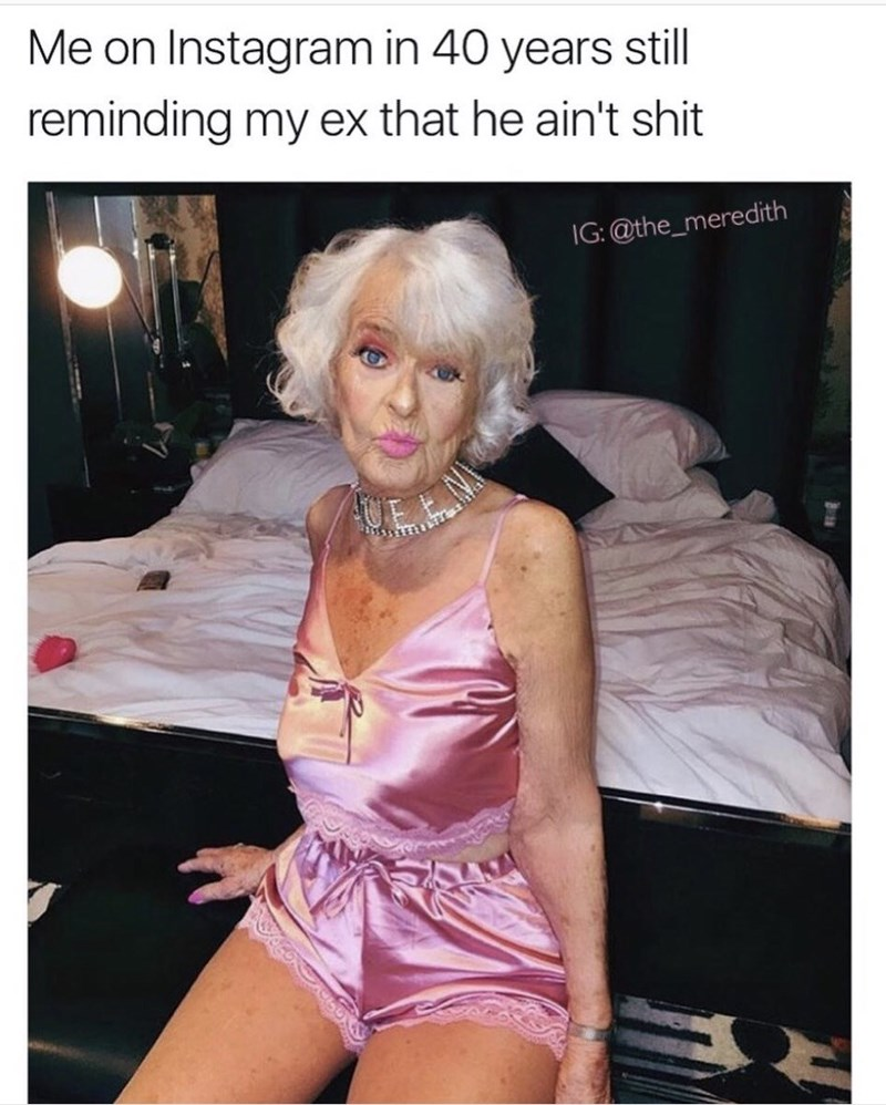 humpday meme about making your ex jealous with a pic of baddie winkle in lingerie