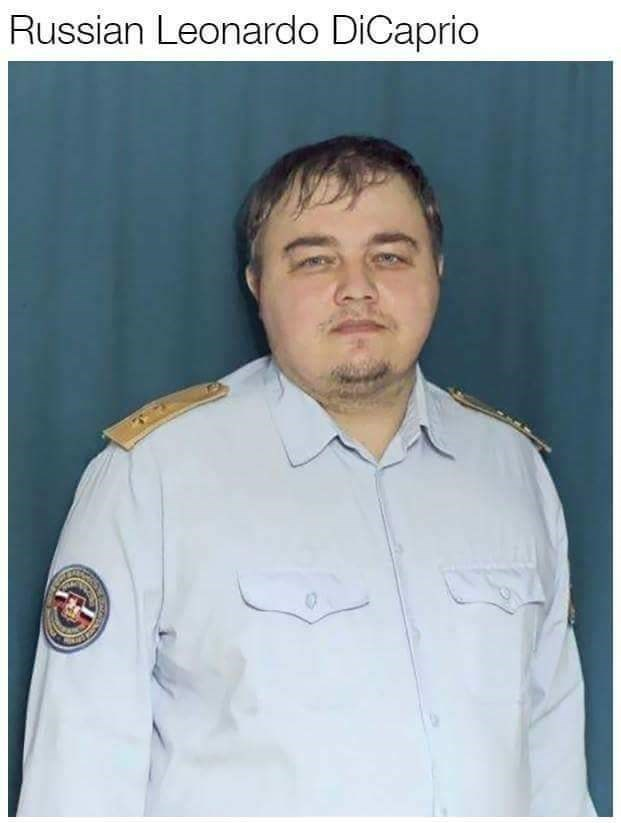 Doppelganger of a Russian Leonardo DiCaprio