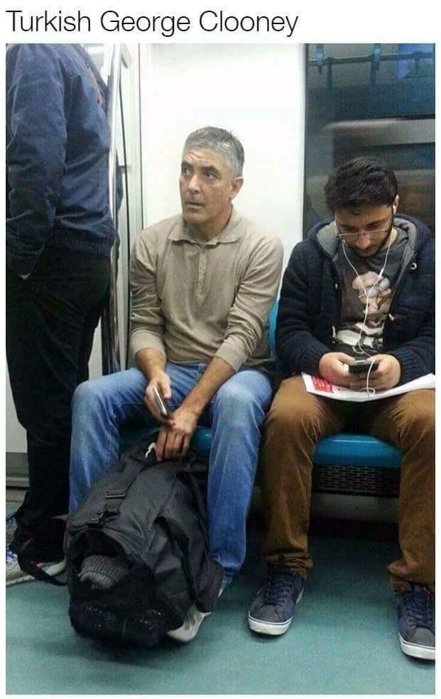 Turkish George Clooney doppelganger