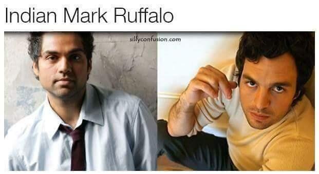 Doppelganger Indian Mark Ruffalo