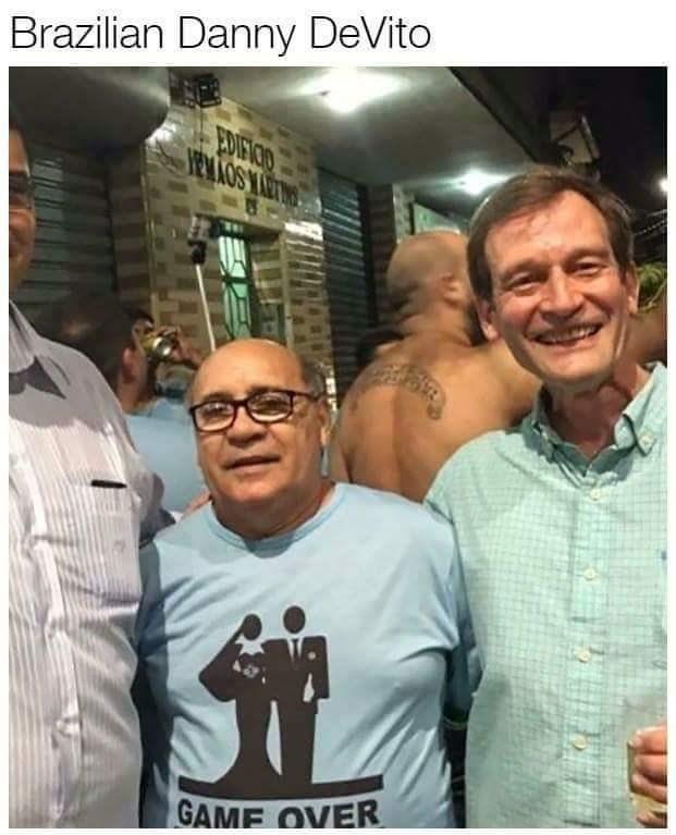 Doppelganger Danny DeVito in Brazil