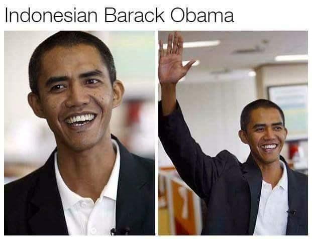 Doppelganger Barack Obama from Indonesia