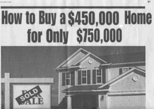 Text - How to Buy a $450,000 Home for Only $150,000 SOLD ALE