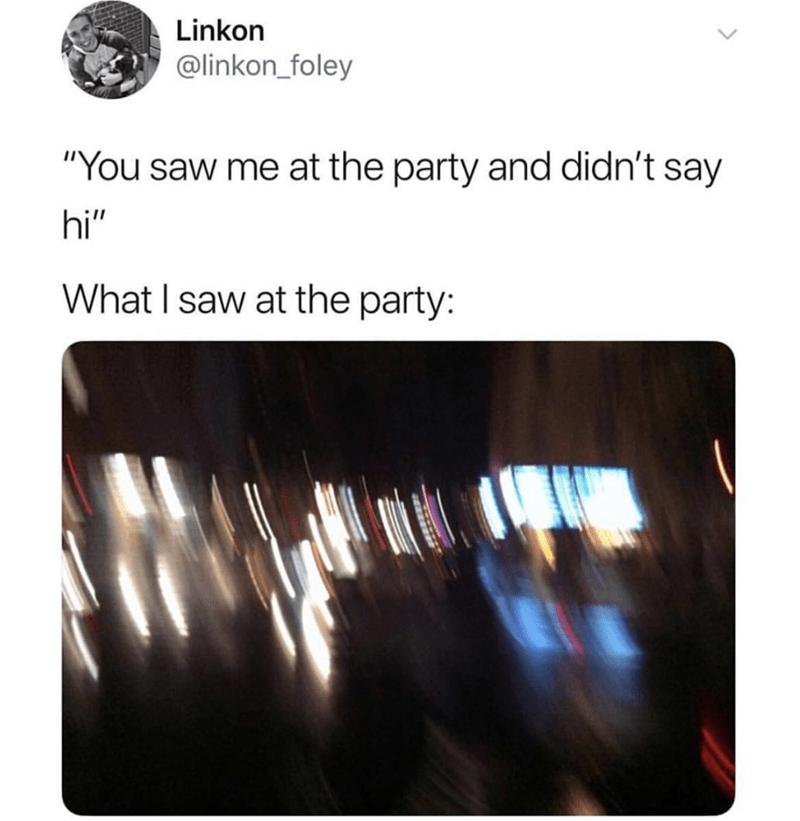 party blur meme