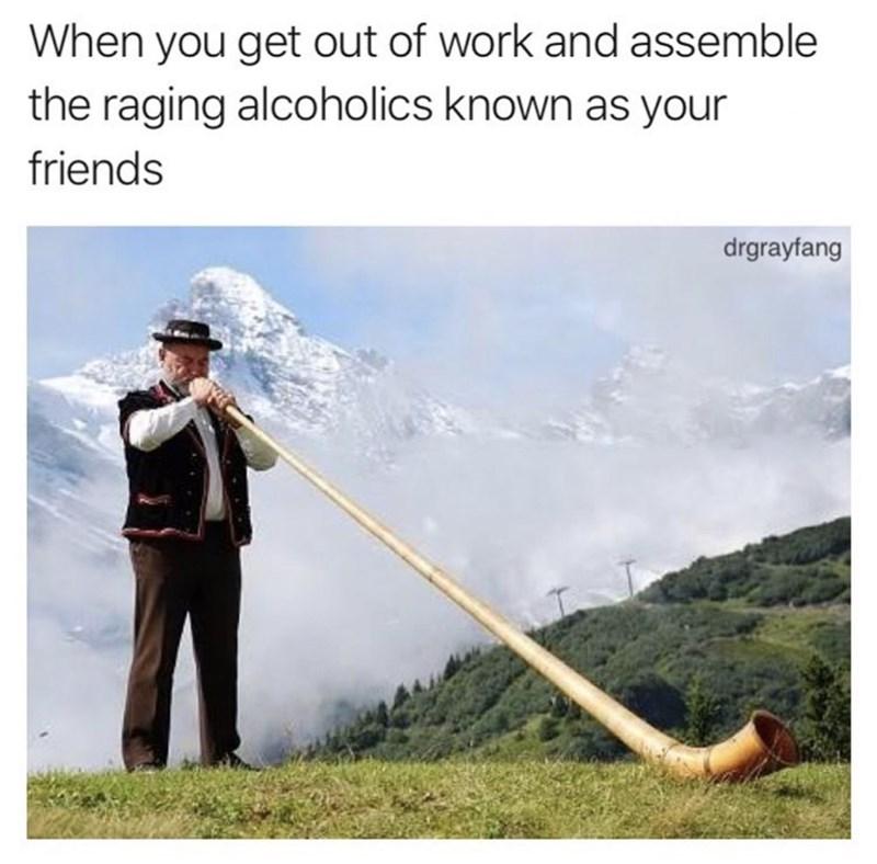 Switzerland horn meme