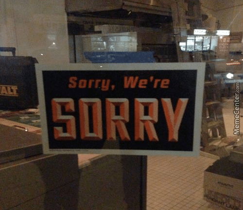 Font - Sorry, We're ALT SORRY OANT LA