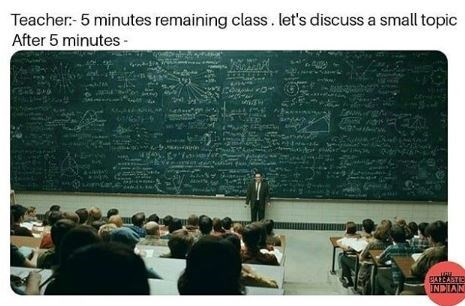Presentation - Teacher- 5 minutes remaining class. let's discuss a small topic After 5 minutes EATCASTIC NVICN