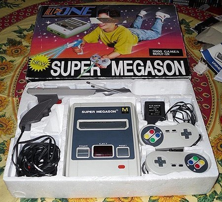 Home game console accessory - TONE ano0 GAMES DUILT-IN unse NEW SUPER MEGASON SUPER MEGASON 00 00 000 OCO