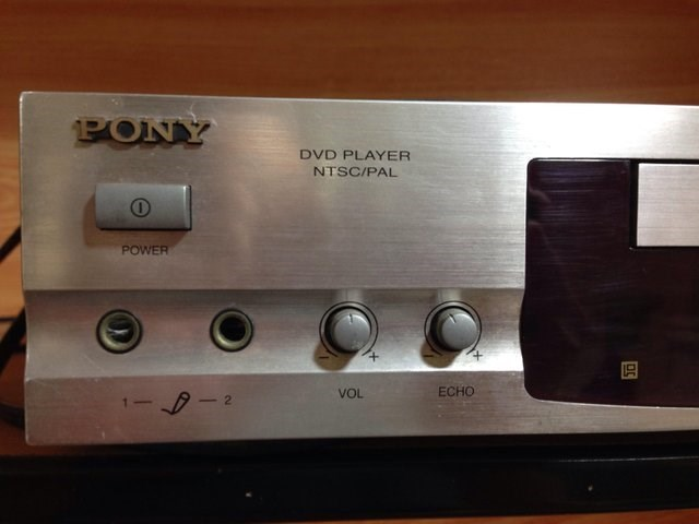 Audio equipment - PONY DVD PLAYER NTSC/PAL 10 POWER ECHO VOL