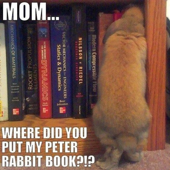 Book - MOM.. Her Daweit Mares Beer Johnston 2y WHERE DID YOU PUT MY PETER RABBIT BOOK llodern Compressible Flow NILSSON RIEDEL eEcTRG e: EREARSON hed VECTOR MECHANICS for ENGINEERS Statics & Dynamics vCTOR MECHNIC FOR ENGINEERS DYNAMICS l ELEMENTS ROCKET PROPULSION MECHANICS OF MATERIALS