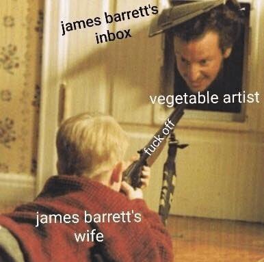 Clarinetist - james barrett's inbox vegetable artist james barrett's wife fuck off