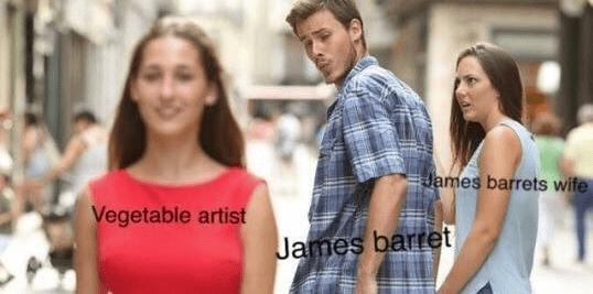 Product - James barrets wife Vegetable artist James barret