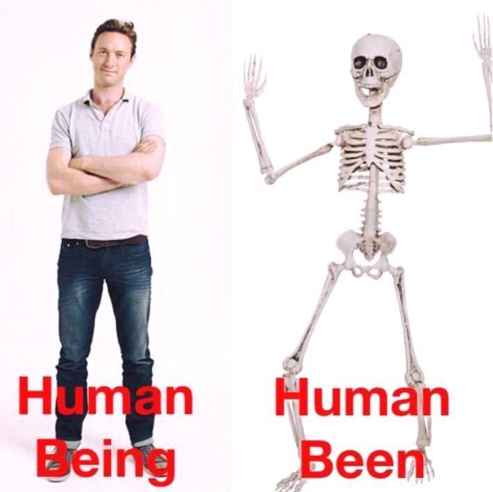 Standing - Human Being Human Been