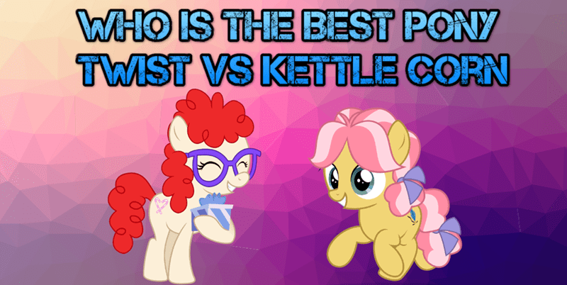 twist kettle corn best pony - 9227387136