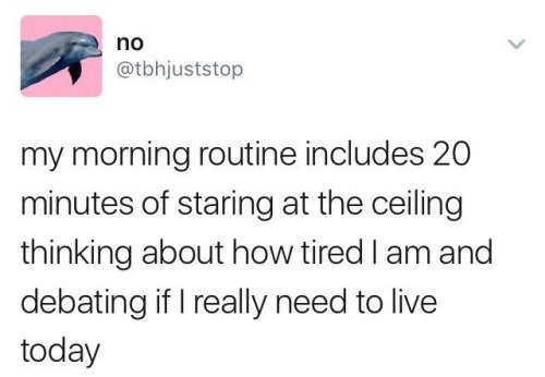meme about staring at the ceiling