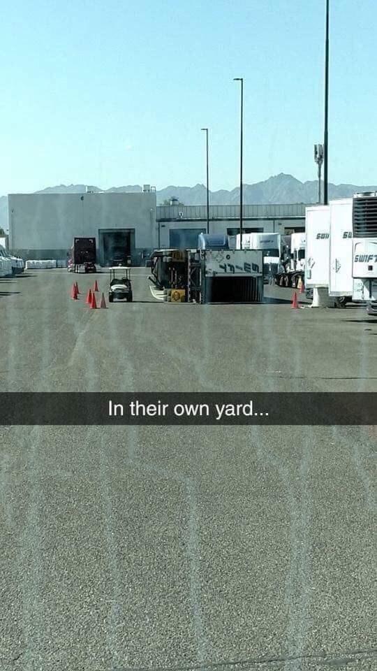 Asphalt - SWIF In their own yard...