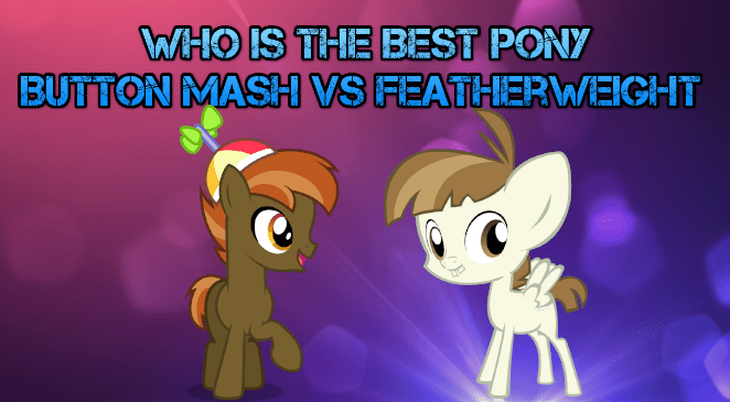 featherweight best pony button mash - 9227652352