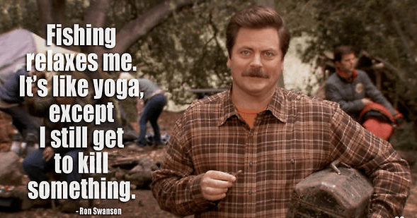 Funny quotes and bits of wisdom from Ron Swanson.