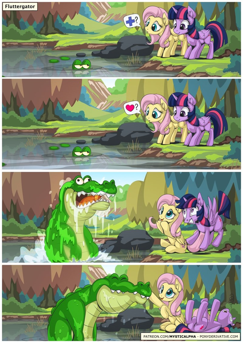 twilight sparkle comic fluttershy mystic alpha - 9227822848