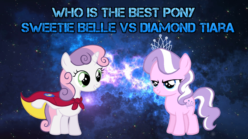 diamond tiara Sweetie Belle best pony - 9227944960