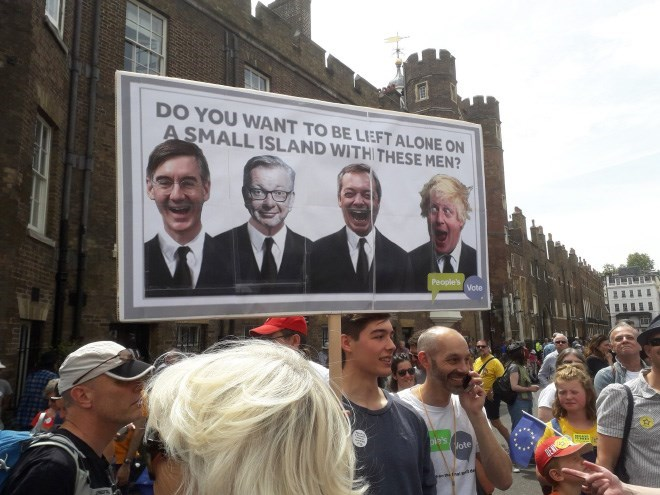 People - DO YOU WANT TO BE LIEFT ALONE ON A SMALL ISLAND WITH THESE MEN? People's Vote ote