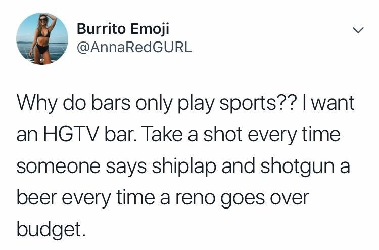 tweet post about how other establishments should play sports @AnnaRedGurl