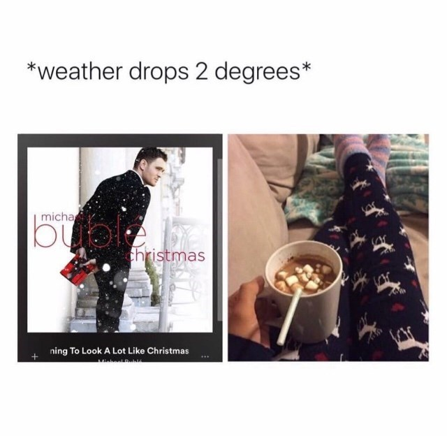 Clothing - *weather drops 2 degrees* micha hristmas ning To Look A Lot Like Christmas